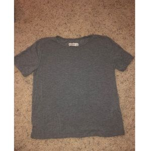 Abercrombie & Fitch grey tshirt